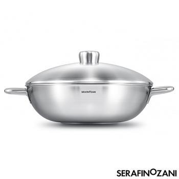 SERAFINO ZANI 尚尼恆温雙耳不鏽鋼炒鍋34cm