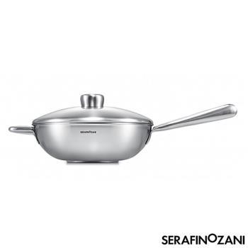 SERAFINO ZANI 尚尼恆温中式不鏽鋼炒鍋28cm