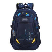 DF 童趣館 - 中年級防潑水護脊肩帶加厚雙肩後背書包-共3色