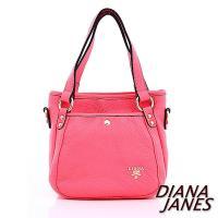 Diana Janes  牛皮手提兩用女包