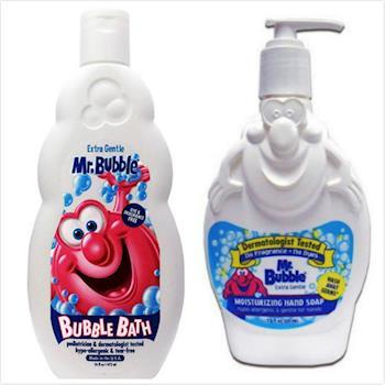 美國 Mr. Bubble 洗手乳【溫和配方/221ml】*3+泡泡浴-無香精(16oz/473ml)*3