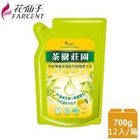 花仙子 茶樹莊園-茶樹檸檬超濃縮700g洗碗精補充包12入