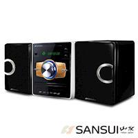 SANSUI山水數位DVD/USB/3合1讀卡床頭音響組(MS-735)