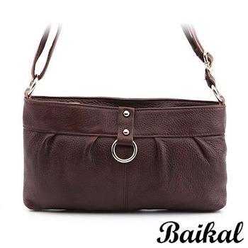 【BAIKAL】時尚簡約流行牛皮包