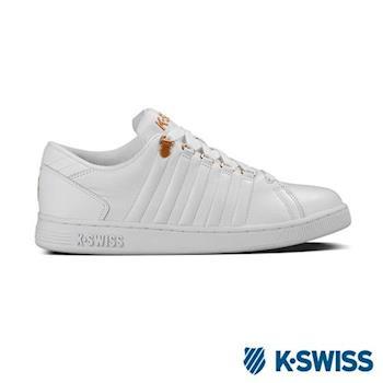 K-Swiss Lozan III休閒運動鞋-男-白/金