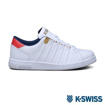 K-Swiss Lozan III休閒運動鞋-男-白/藍/紅