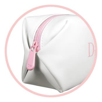 任-Dior 迪奧 櫻粉Logo美妝包