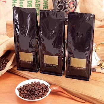 大隱珈琲 旅行系列 嚴選咖啡豆 半磅 x3入 3款風味任選