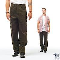 【NST Jeans】簡約好手感 橄欖綠休閒直筒長褲(中腰) 390(5570)