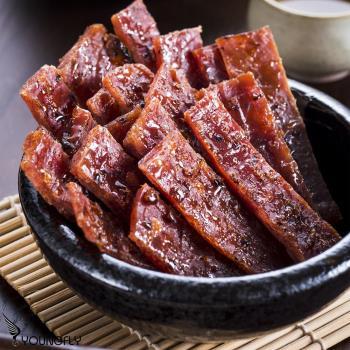 【巧福珍】黑胡椒豬肉乾 (150g/包)