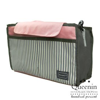 DF Queenin - 韓版包中包媽媽包推車收納袋-共2色