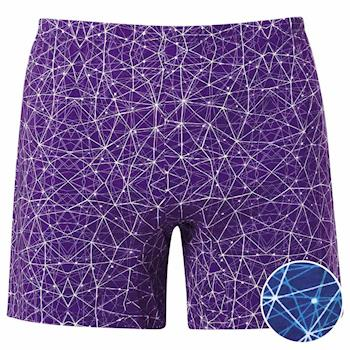 【DADADO】星際幾何  M-LL 印花平口褲(神秘藍)