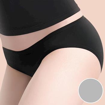 【莎薇】MODAL-防臭抗菌-健康褲 -M-LL 低腰三角褲(活力灰)