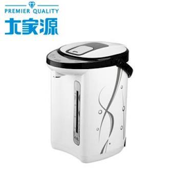 【大家源】4L 二合一電熱水瓶TCY-2034