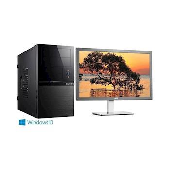 Genuine 捷元 GP888-8P G4400雙核 Win10Pro 電腦+AOC捷元 i2276VW6 21.5吋 液晶螢幕 超值組