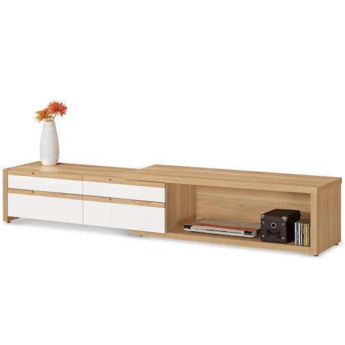 【MY傢俬】雅致木質伸縮4尺電視櫃
