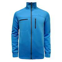 【hilltop山頂鳥】男款保暖彈性針織外套H22MV2藍