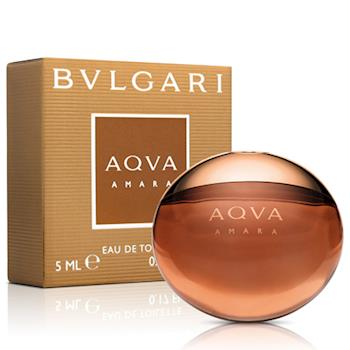 Bvlgari寶格麗 AQVA 豔陽水能量男性淡香水小香(5ml)