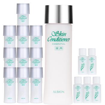 ALBION艾倫比亞 健康化妝水N(330ml)+(330ml)容量組