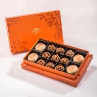 漢坊 御藏禮盒-2盒組 (綠豆椪+純綠豆椪+咖啡胡桃堅果塔 綜合13入/盒)