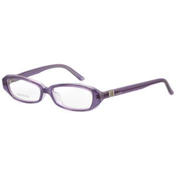 GUCCI-時尚光學眼鏡(晶亮粉紫)