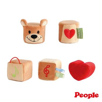 【日本People】Suzy's Zoo布玩具系列-五感立體布玩具