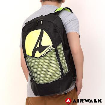 【美國 AIRWALK】 假面騎士 運動筆電後背包-黑