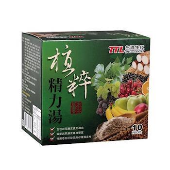 台酒 生技熱銷精力湯10包 x6盒