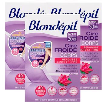 法國 邦妮詩Blondepil 除毛貼片 40片X3 (共120片)