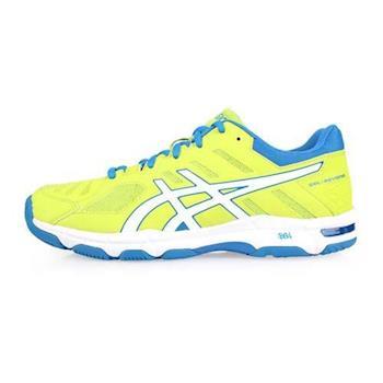 ASICS GEL-BEYOND 5 男排羽球鞋-排球 羽球 訓練 亞瑟士 芥末綠藍