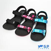 G.P 女款時尚休閒織帶涼鞋 G8658W-黑色/黑桃色/藍色(SIZE:36-39 共三色)