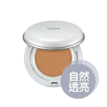 【IOPE 艾諾碧】水潤光透氣墊粉底SPF50+/PA+++(Natural Glow自然透亮系列)