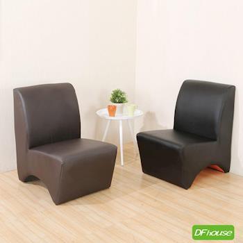 《DFhouse》奧斯頓加大L沙發凳(加大版)台灣製造(2色) L型沙發 和室沙發 小沙發 輔助椅 穿鞋椅 凳子 兒童椅 皮椅