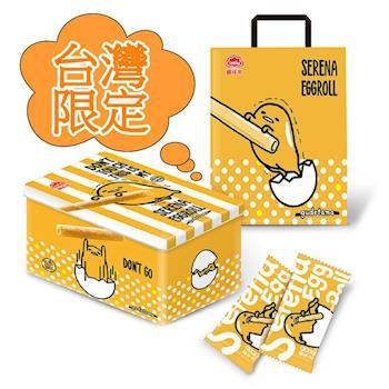 【喜年來】蛋黃哥原味蛋捲禮盒x6盒(320g/盒)