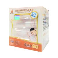 【傳佳知寶】茶壺型直立式辨溫母乳冷凍袋(240ml--80入)