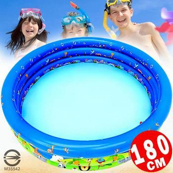 【WEKO】180CM充氣游泳池(WE-P180)