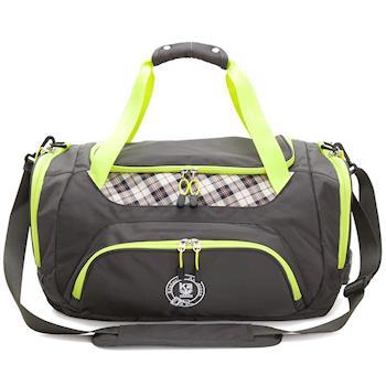 【金安德森】大款旅行袋 跳躍時空 機能收納手提-復古灰(KA164401GYF)