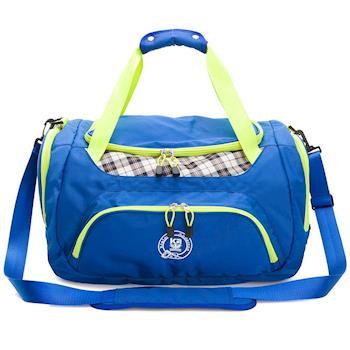 【金安德森】大款旅行袋 跳躍時空 機能收納手提-摩登藍(KA164401BLF)