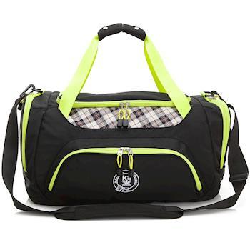 【金安德森】大款旅行袋 跳躍時空 機能收納手提-時尚黑(KA164401BKF)