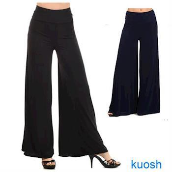 【Kuosh】美國進口高雅寬版長褲(NS-6080)