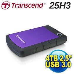 2.5吋 創見4TB USB3.0 StoreJet 25H3隨身硬碟(TS4TSJ25H3P)-網