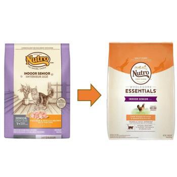 【Nutro】美士 室內貓化毛熟齡貓(雞肉+糙米)3磅 X 1包