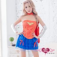 天使霓裳 角色扮演 神力女王 人氣英雄表演派對服(紅F) SS310