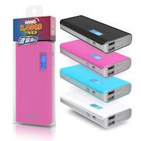 HANG 24000mAh 液晶極速方盒雙USB電源