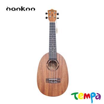 【Tempa】hanknn 23吋桃花芯菠蘿款烏克麗麗大全配
