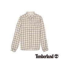 Timberland女款紗染深玫瑰粉Sudbury Rvr 雙層襯衫A1TW1