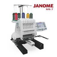 JANOME  職業專用刺繡機 MB-7