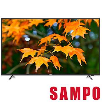 SAMPO聲寶 49吋 SMART聯網LED液晶顯示器+視訊盒 EM-49QT30D
