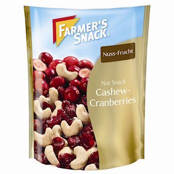 Farmers腰果蔓越莓(125g/包) x4包