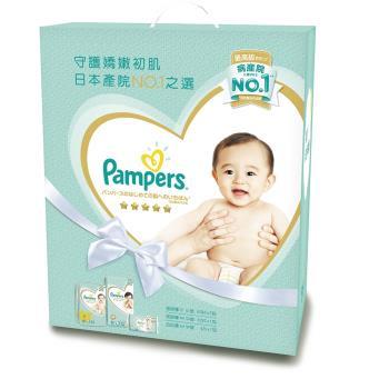 【幫寶適】一級幫 紙尿褲/尿布 玩具盒裝(S60片x2+M52片x1+拉拉褲M4片x1)